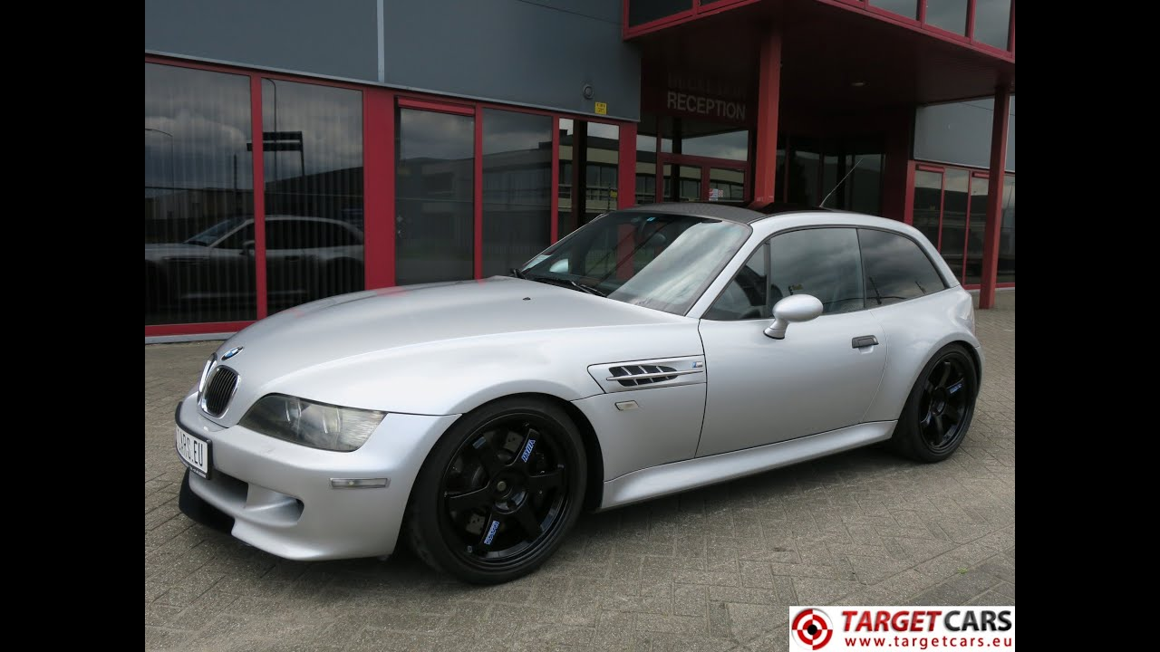 750345 Bmw Z3m M Coupe 3 2l 325hp S54 M Coupe 06 02 Silver