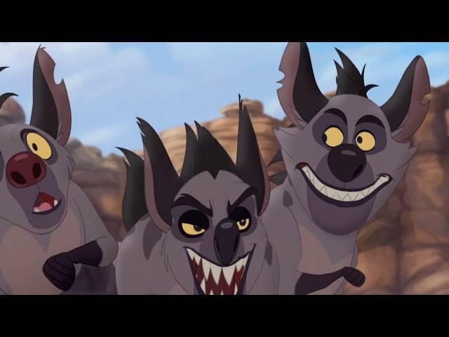 The Lion Guard: Jasiri and Kion battle Janjas clan!