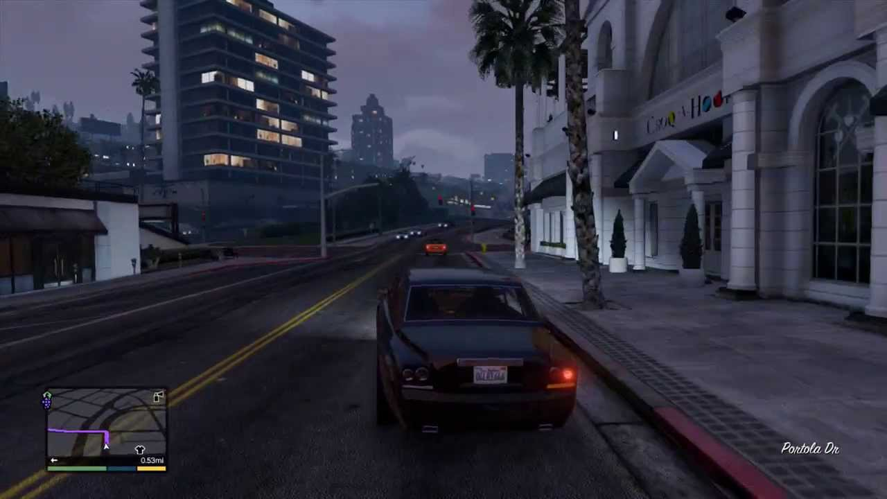 Grand Theft Auto 5 GTA5 Enus Super Diamond Location - YouTube