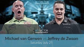 Michael van Gerwen vs Jeffrey de Zwaan | BetVictor World Matchplay Preview Show | Darts 🎯