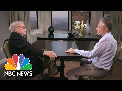 Tom Brokaw And Jon Stewart Discuss Their Thoughts On Social Media | NBC News
