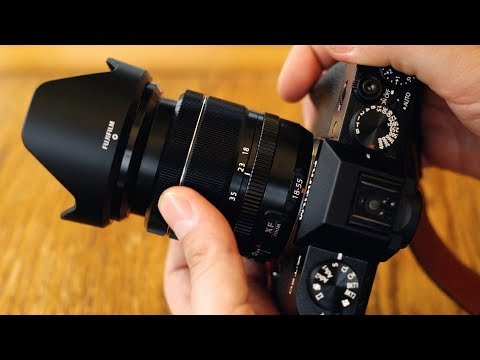 Fuji XF 18-55mm f/2.8-4 OIS lens review with samples