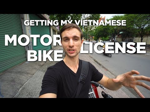 How To Get Your Vietnamese Motorbike License
