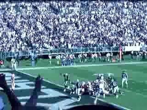 MIchael Huff's first safety as an Oakland Raider