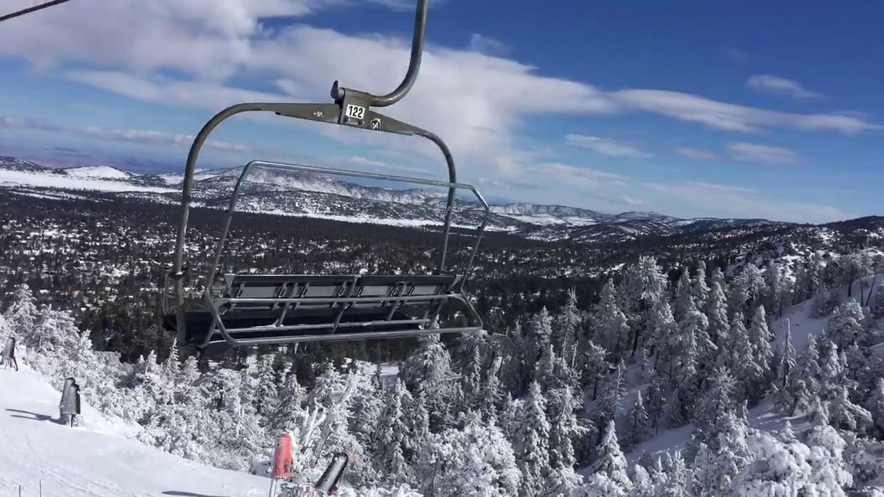 skiing at bear mountain in big bear lake, ca january 24, 2017 part 8