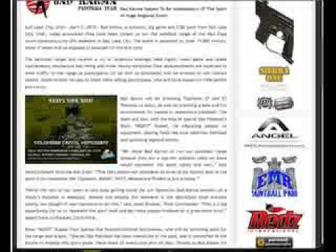 Weekly Paintball News Video: 4/7/10