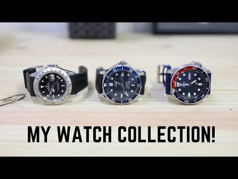 Juan's Watch Collection | Rolex, Omega, Seiko