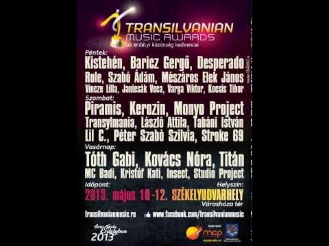 Transilvanian Music Awards 2013 majus 9-12