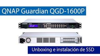 QNAP Guardian QGD-1600P: Unboxing de este switch gestionable con QTS
