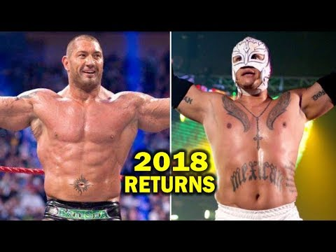 10 WWE RETURNS Rumored for 2018