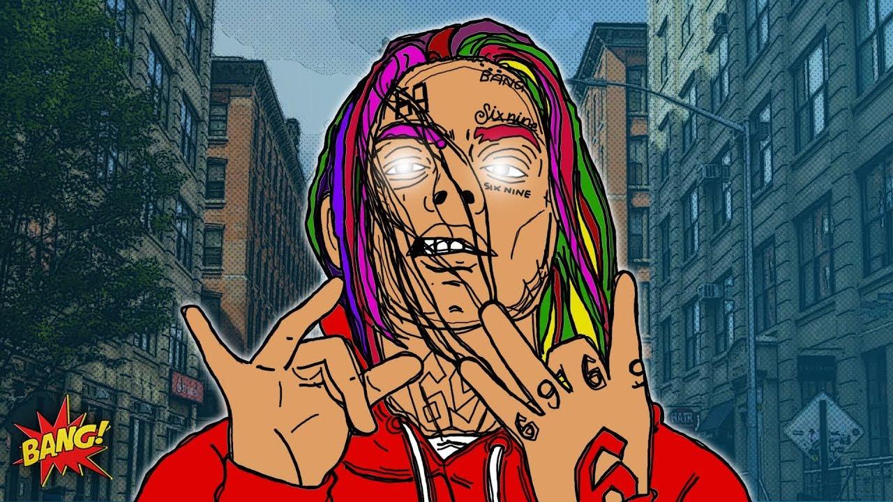 Artist to know 6ix9ine nesdiscusses - 6ix9ine cartoon wallpaper ...