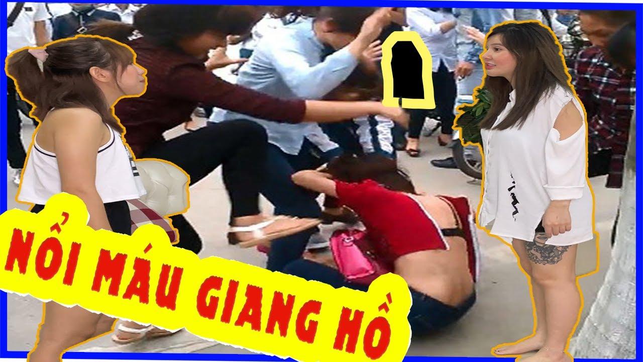 Troll Nổi Máu Giang Hồ - Troll Bạn Thân | Kim Hằng.