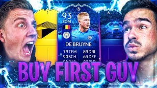 FIFA 20 : KEVIN DE BRUYNE 93 TOTGS SPECIAL BUY FIRST GUY !! 😱🔥