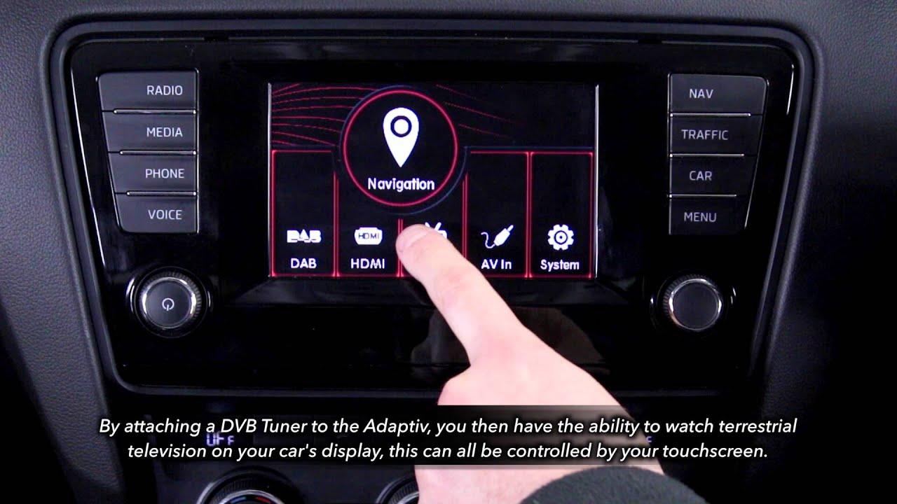 Adaptiv Lite VW Passat 2015 /> OEM multimedia de Apple//Android actualización
