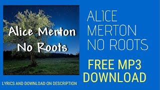 Alice Merton No Roots - Audio MP3 Free Download