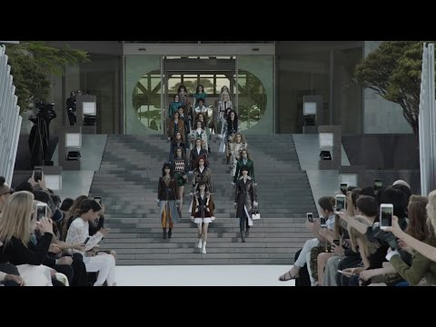 The Louis Vuitton Cruise 2018 Fashion Show at the Miho Museum near Kyoto, Japan