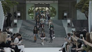 The Louis Vuitton Cruise 2018 Fashion Show At The Miho Museum Near Kyoto Japan