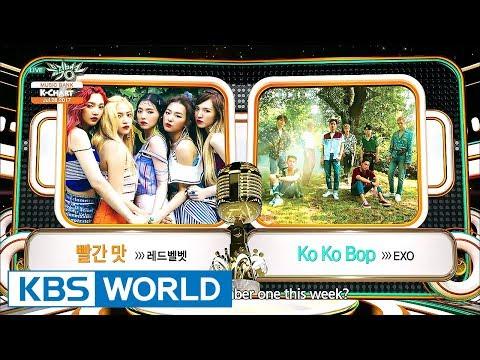 [Music Bank K-Chart] 4th Week of July - Red Velvet VS EXO (2017.07.28)