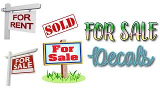Roblox Bloxburg - For Sale Decal Id's