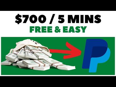Make $700 PayPal in 5 Minutes! (Make Money Online 2021)