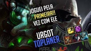 URGOT VS SION - FUI TOP DANO DA PARTIDA - CURTI DE MAIS O CAMPEÃO - league of legends thumbnail
