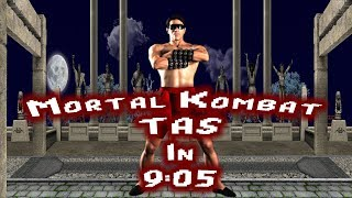 Mortal Kombat (SG) - Johnny Cage TAS - (9:05) - 4K/60fps