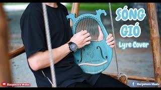 SÓNG GIÓ   JACK x K-ICM   Lyre Cover   #HarpstoreMusic