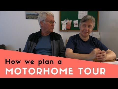 How we plan a Motorhome Tour