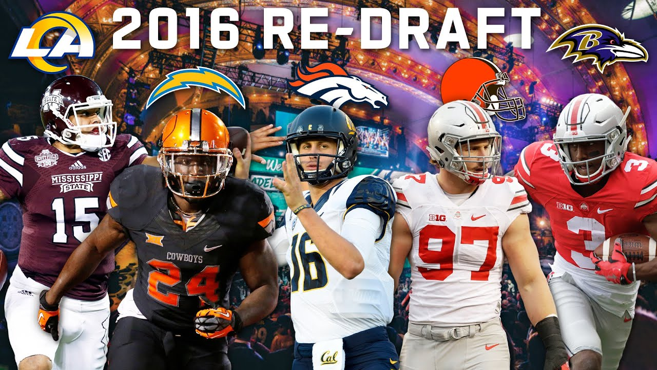 Re-Drafting the 2016 Rookie Class: Bosa to Browns, Michael Thomas to Ravens & More! | NFL Throwback