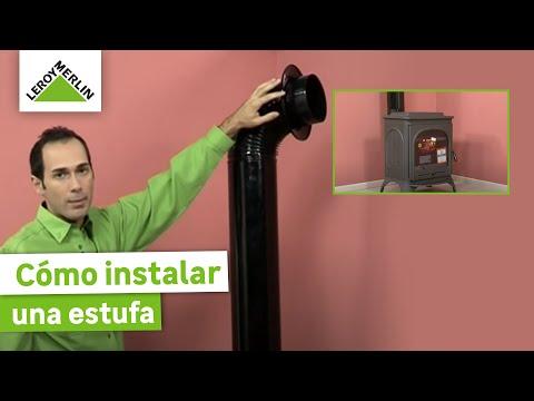 Instalar una estufa leroy merlin youtube - Como instalar una chimenea de lena ...