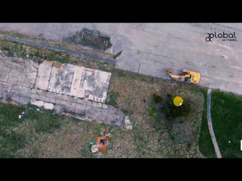 Drone Pre-Construction Mapping by Global Air Media