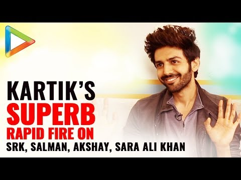 """Shah Rukh Khan - I am his Big Fan, Akshay Kumar - My Role Model"": Kartik Aaryan 