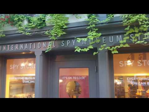 WASHINGTON DC - INTERNATIONAL SPY MUSEUM STORE