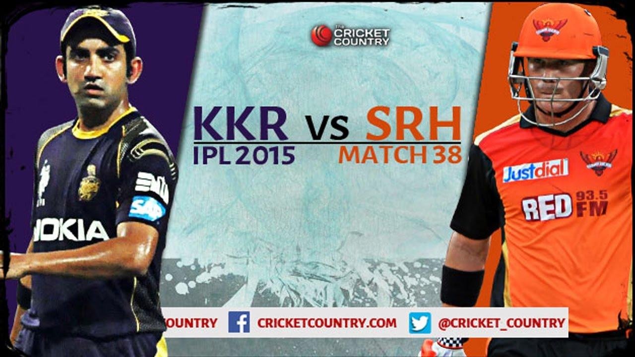 VIVO IPL 2017 Sunrisers Hyderabad VS Knight Riders ...