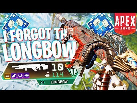 I Forgot About the Longbow… (4k Damage) – PS4 Apex Legends