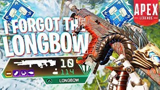 I Forgot About the Longbow... (4k Damage) - PS4 Apex Legends
