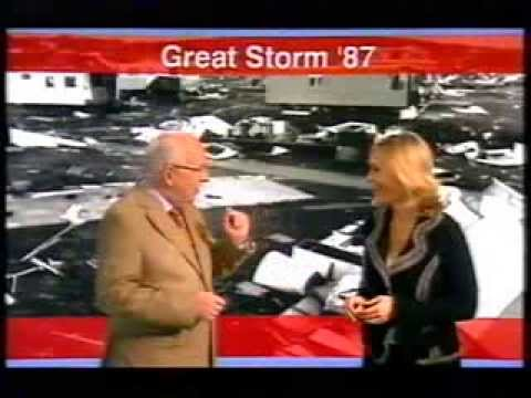BBC Weather 15th October 2007: Michael Fish Returns On 20th Anniversary Of Great Storm