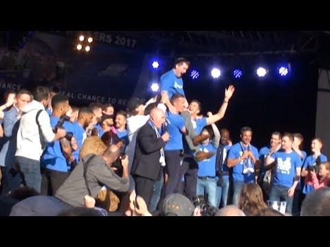 David Wagner & Dean Hoyle Speak At Huddersfield Town Promotion Celebration