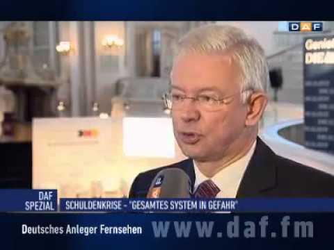 Bilfinger Berger-Chef Roland Koch zur Gefahr einer Übernahme