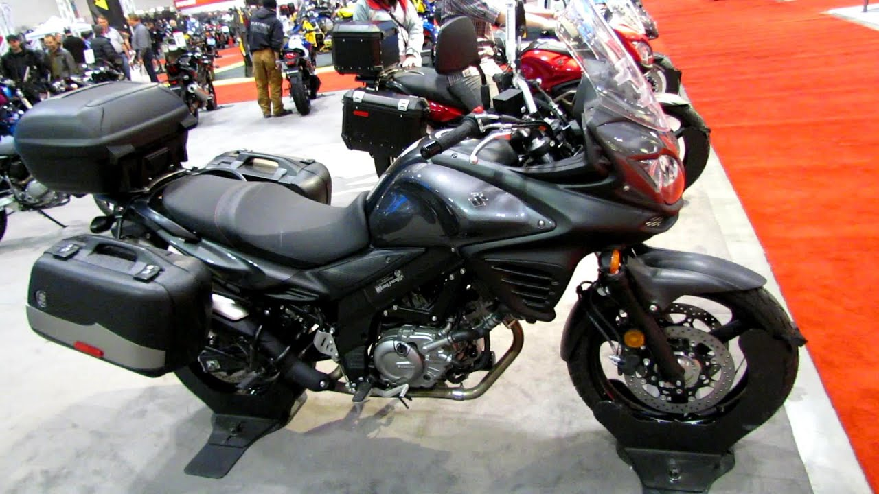 2014 suzuki v-strom 650 se abs walkaround - 2014 toronto motorcyle