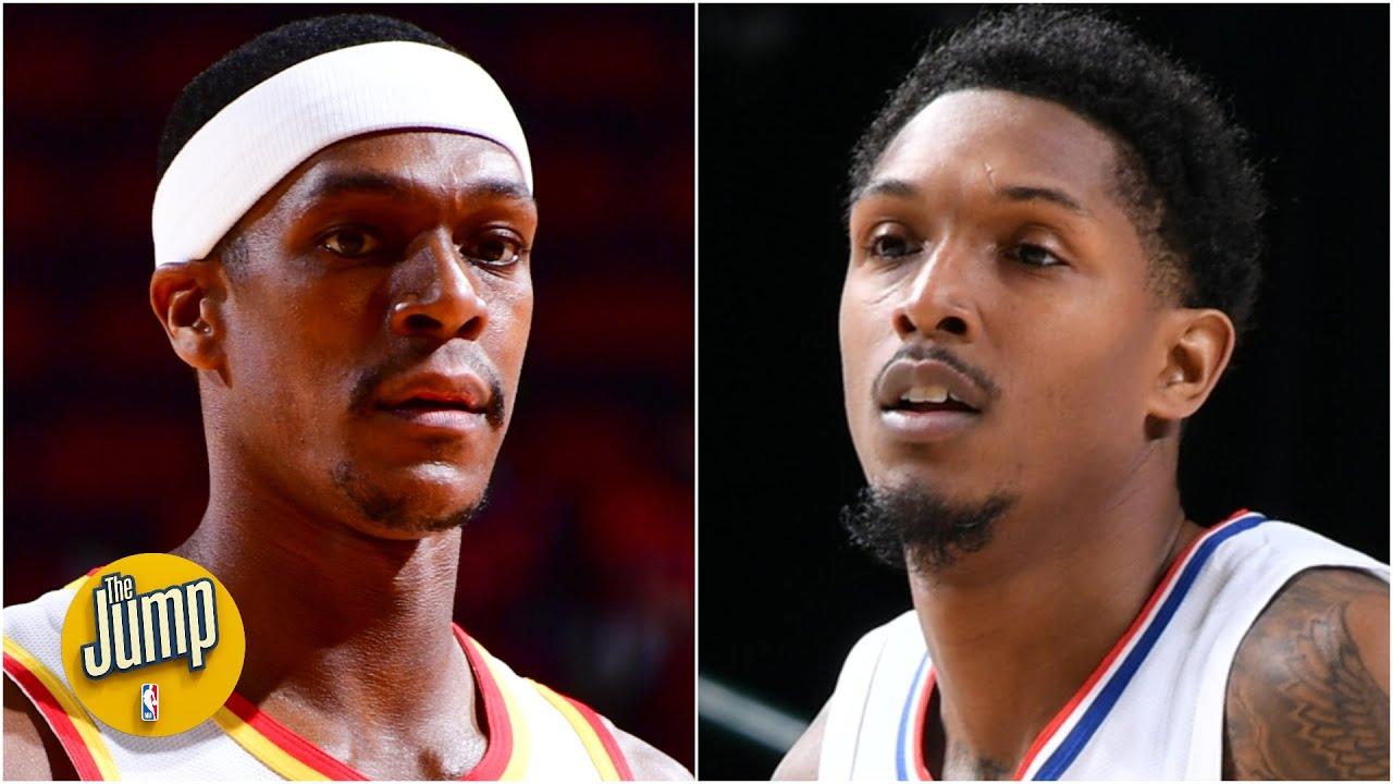 Atlanta Hawks trade Rajon Rondo to LA Clippers for Lou Williams ...