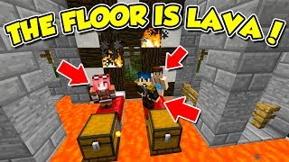 Minecraft ITA - THE FLOOR IS LAVA!! - W/SpJockey (Prima Parte)