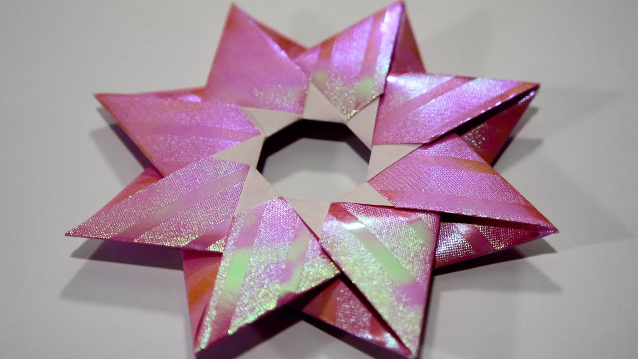 Christmas origami instructions hex star maria sinayskaya youtube - Christmas Origami Instructions Hex Star Maria Sinayskaya Youtube 3