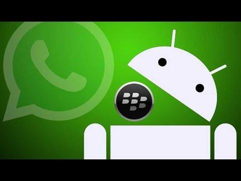 Solucion Para Enviar Imagenes,Video,Estados En WhatsApp Blackberry ISO 10 2018