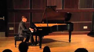Junior Recital, Sonata in D Major K. 311 Mozart (mov. III)