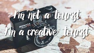 Gambar cover I'm not a tourist, I'm a creative tourist !
