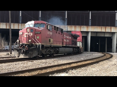 Trains in the Milwaukee area on 2/5/17 with race, ATK, CEFX, fakebonnet, and more!