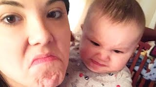 Baby Refuses Say Mama 👩👶 Funny Baby Video
