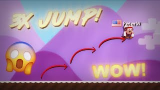 TRIPLE JUMP?!! | Growtopia (MythBusters #3)