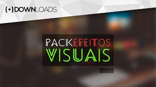 DOWNLOAD: Pacote com EFEITOS VISUAIS grátis para vídeos